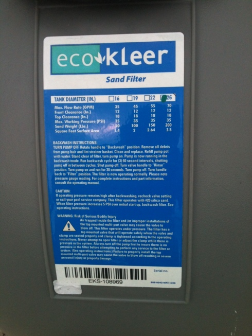 Eco Kleer Waterwayparts